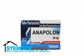 Anapolon - 50mg/tab (20tab) - Balkan Pharmaceuticals