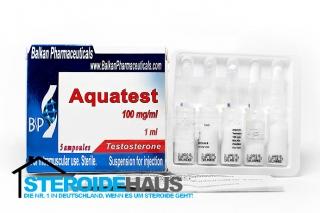 Aquatest - 100mg/ml (1amp) - Balkan Pharmaceuticals