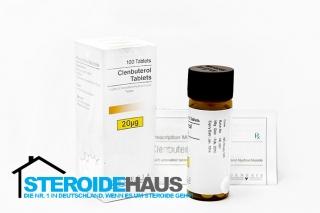 Clenbuterol tablets - Genesis