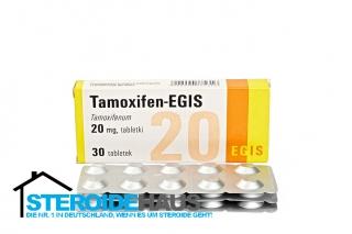 Tamoxifen 20mg/tab (30tab) - Egis - Apotheke
