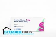 Anastrozol 1mg/tab. (28tab) - Sandoz