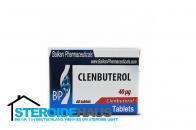 Clenbuterol - 40mcg/tab (20tabs) - Balkan Pharmaceuticals