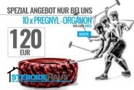10x Pregnyl 5000 I.U. /amp.- Organon Holland