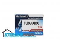 Turanabol - 10mg/tab (20tab) - Balkan Pharmaceuticals
